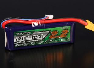 Turnigy nano-tech 2200mah 2S 35~70C Lipo Pack