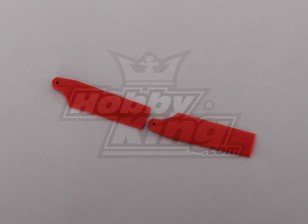 450 Size Heli Red Tail Blade (pair)
