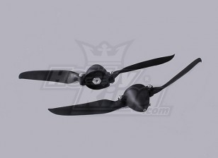 Folding Propeller W/Hub 40mm/4.0mm Shaft 10x6 (2pcs)