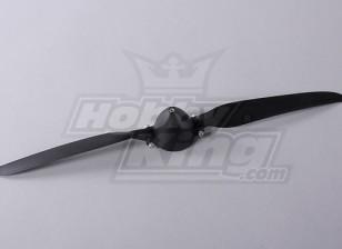 Folding Propeller W/Hub 45mm/4mm Shaft 13.5x7 (1pc)