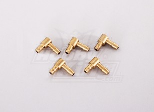 90 Degree Brass Fuel Pipe (5pcs/bag)