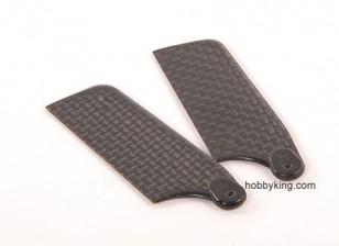 62mm TIG Carbon Fiber Tail Blade