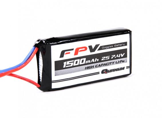 Quanum FPV Headset Battery 7.4V 1500mAh 3C