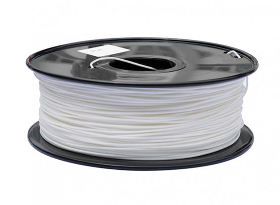 HobbyKing 3D Printer Filament 1.75mm PLA 1KG Spool (White)