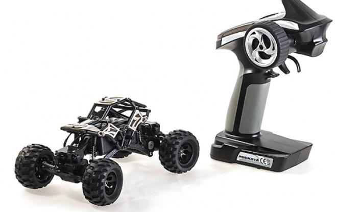Basher RockSta 1/24 4WS Mini Rock Crawler (RTR) (Metal Gears)
