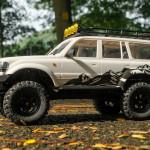 EAZYRC 1/18 (RTR) Patriot Scale 4x4 Rock Crawler Car (White)