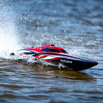 HydroPro Inception Brushless (RTR) Deep Vee Racing Boat 950mm (Red/Black)