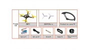 Kingkong Fly Egg 130 Camera Racing Drone with Piko BLX FC and Flysky Receiver (PNF) Accessories