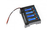 Turnigy Quad 4x6S Lithium Polymer Charger 400W DC Only - top