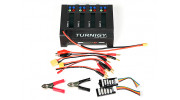 Turnigy Quad 4x6S Lithium Polymer Charger 400W DC Only - contents