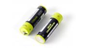 Znter 1.5V 1700mAh USB Rechargeable AA LiPoly Battery (2pcs) 2