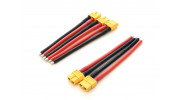 Genuine XT60 Female Connector w/10cm 12AWG Silicone Wire (5pcs)
