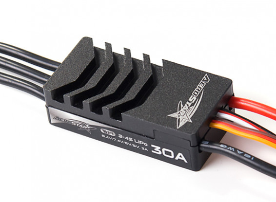 AeroStar WiFi 30A Brushless ESC with 3A BEC (2~4S)