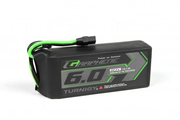 Turnigy Graphene Panther 6000mAh 6S 75C Battery Pack w/XT90