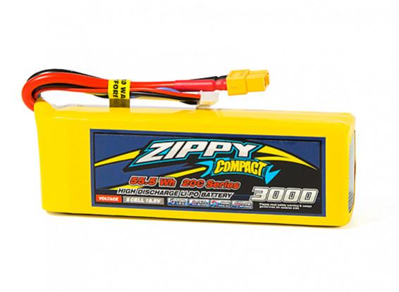 ZIPPY Compact 3000mAh 5S1P 20C Lipo Pack w/XT60
