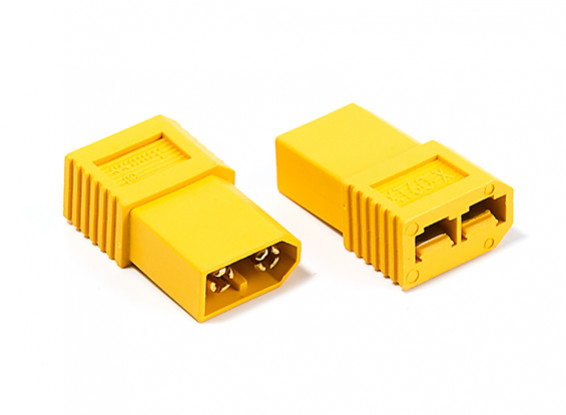 XT60 Male to Traxxas Female Adapter (2pcs)