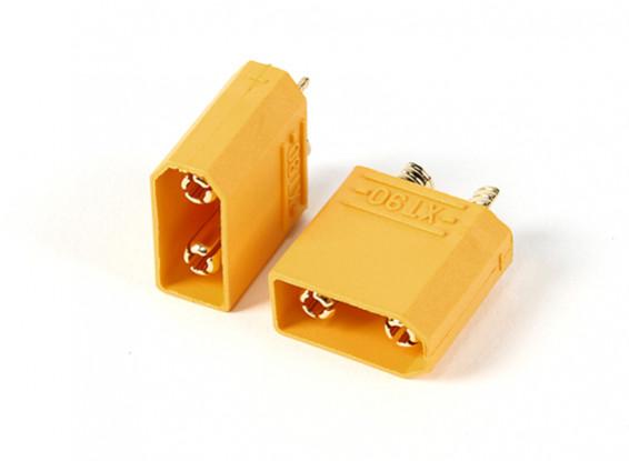 Nylon XT90 Connectors Man (5pcs / bag)
