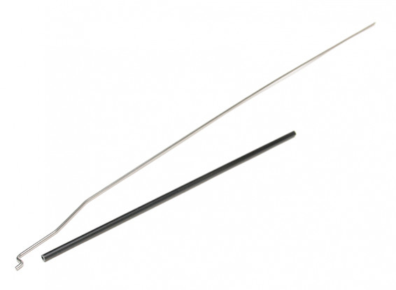 HydroPro Inception Brushless RTR Deep Vee Racing Boat Replacement Rudder Pushrod w/Carbon Tube