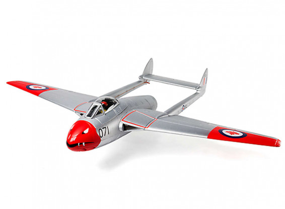 Durafly-D-H-100-Vampire-PNF-Canadian-Edition-70mm-EDF-Jet-1100mm-Plane-9306000270-0-1