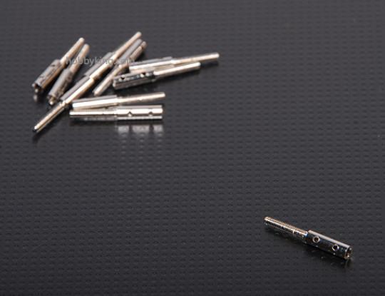 Draadeinden M2xL20mm (10st / set)