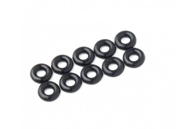 O-ring Kit 3 mm (zwart) (10st / bag)