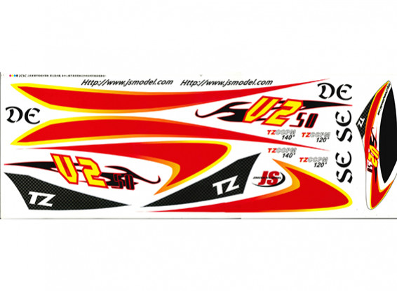 TZ-V2 0,50 Size Decal