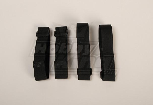 Battery Strap 400X20mm (Black) (4 stuks / zak)