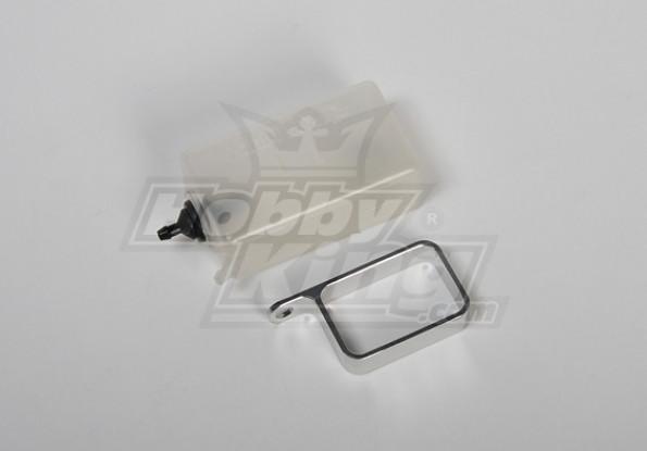 Header Tank w / metalen houder (zilver)