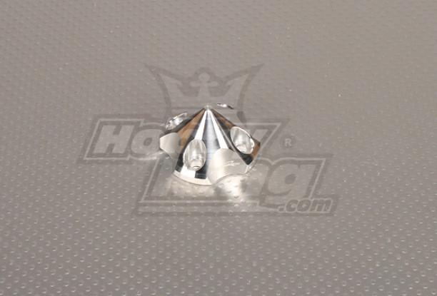 CNC 3D spinner Kleine V2 Silver
