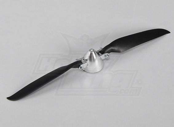 Folding Propeller W / Alloy Hub 40mm / 3mm Shaft 10x6 (1 st)