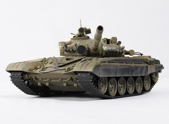 T-72M1 Battle RC Tank RTR w / Tx / geluid / Infrared