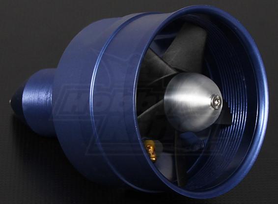 Alloy DPS Series 72mm EDF unit met 2550kv Motor - 1200watt
