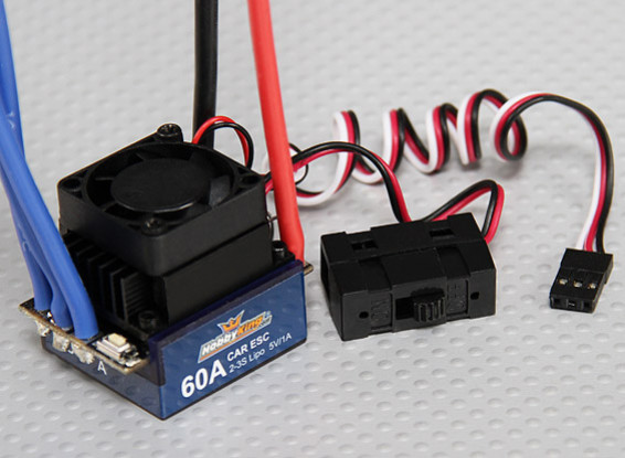 Hobbyking 60A Brushless Car ESC