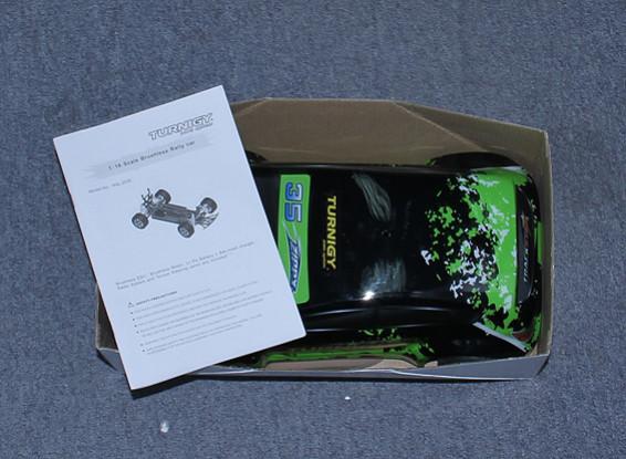 KRAS / DENT 16/01 Brushless 4WD Mini Rally Car