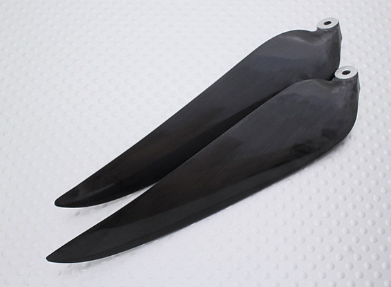 Folding Carbon Infused Propeller 11x8 Black (CCW) (1 st)