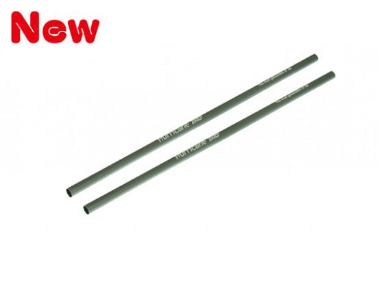 Gaui 100 & 200 Maat Titanium geanodiseerd Tail Booms Pack voor Belt versie (203.191)