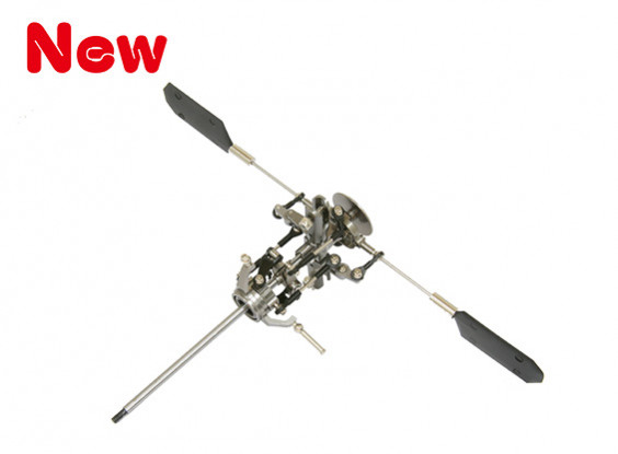 Gaui H200V2 CNC Rotor Head & Swash Plate Assembly (203689)