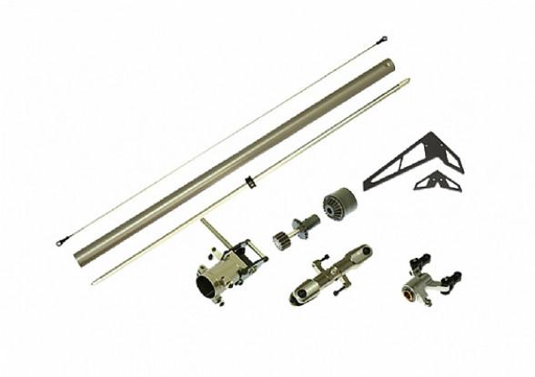 Gaui 425 CNC Torque tube staart upgrade pack (voor 425mm Blade)