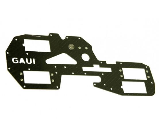 Gaui 425 & 550 H550 Right carbon frame met metalen onderdelen