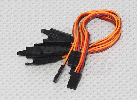 15cm Servo Lead Extention (JR) met haak 26AWG (5pcs / bag)