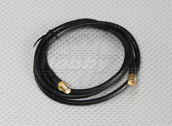 RG58 Patch Cable SMA vrouwelijk naar SMA Male (1 Meter)
