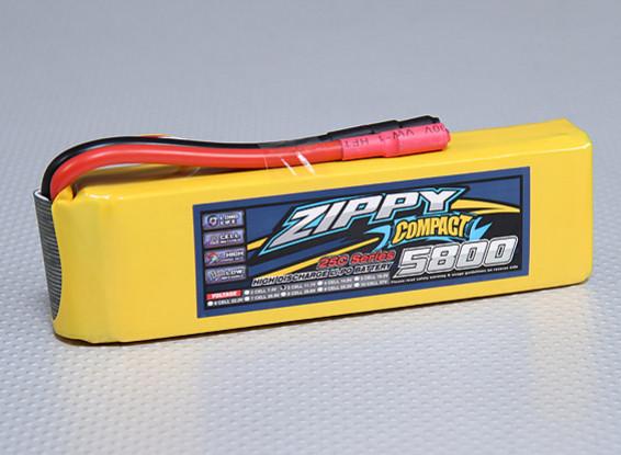 Pack ZIPPY Compact 5800mAh 3S 25C Lipo