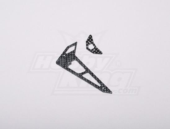 HK-250GT CF horizontale / verticale Tail Fin