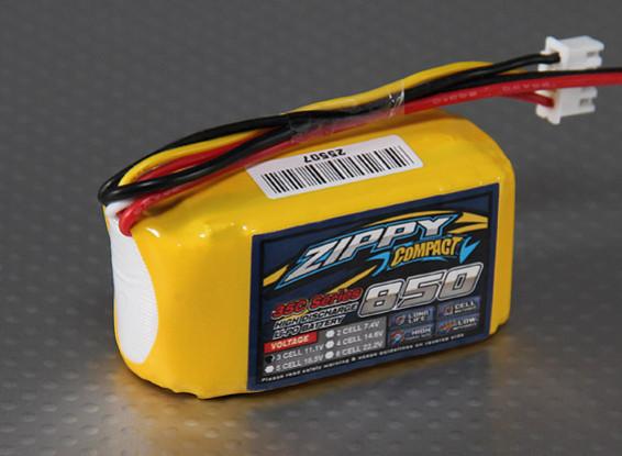 Pack ZIPPY Compact 850mAh 3S 35C Lipo