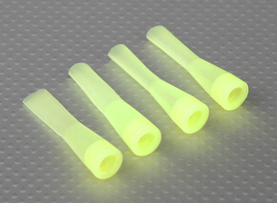 Silicone Shock Boot (Geel) (4Pcs / Bag)