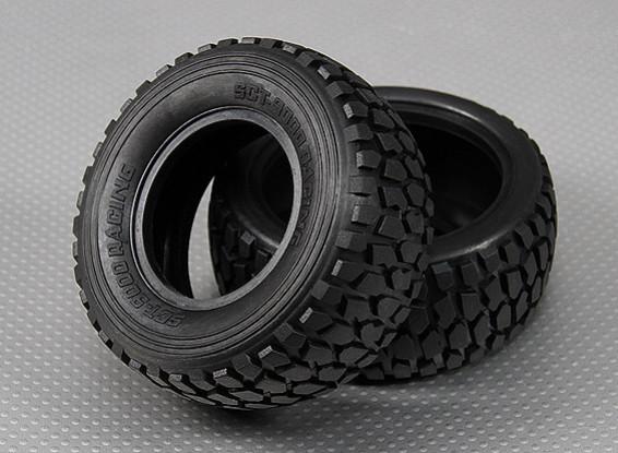 Tire 1/10 Turnigy 4WD borstelloze Short Course Truck (2 stuks / Bag)