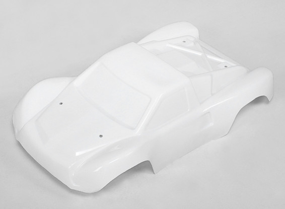 Ongeverfde Body Shell w / Decals 1/10 Turnigy 4WD borstelloze Short Course Truck