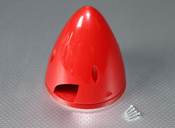 Nylon 95mm Spinner (Rood)