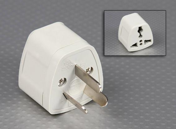 Australische normen AS 3112 Multi-Standard Sockets Adaptor