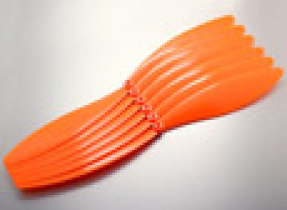 GWS Style Propeller 15x10 Orange (CCW) (6 stuks)